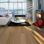 Dřevěná plovoucí podlaha  Kährs - kolekce Nordic Naturals Buk Bornholm