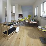 Dřevěná plovoucí podlaha  Kährs - kolekce Nordic Naturals Bříza Sarek