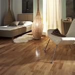 Dřevěná plovoucí podlaha  Kährs - kolekce Nordic Naturals Buk Viborg