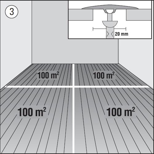Směr pokládky plovoucí podlahy